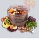 Электрическая сушилка для овощей и фруктов с 5 полками, 13.5L, 220V/245W С вентилятором